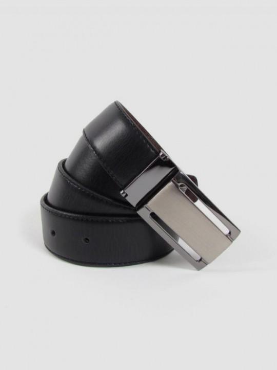 Cinturón reversible chapón vestir