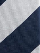 PuroEGO Traje cruzado raya diplomática azul