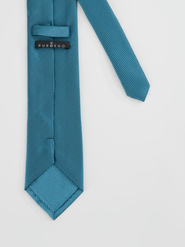 Sky Blue Jacquard-weave tie