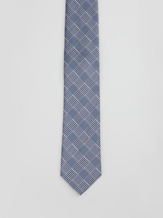 Black&White Prince of Wales Tie
