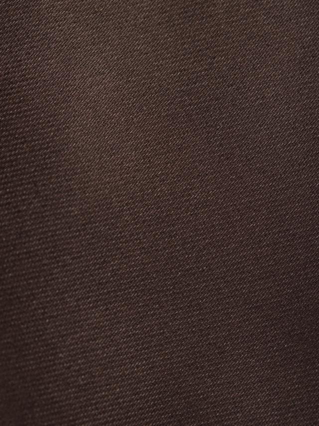 Corbata lisa marrón