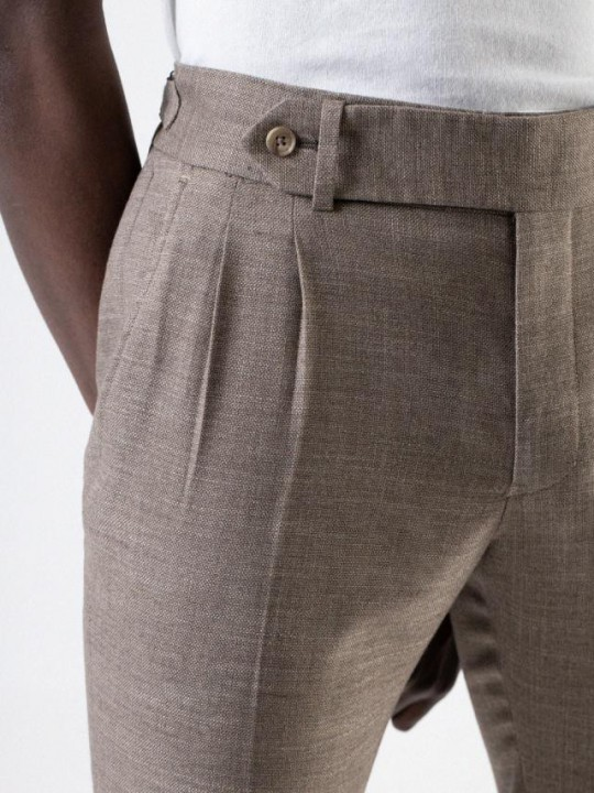 Pantalón chino slim fit khaki