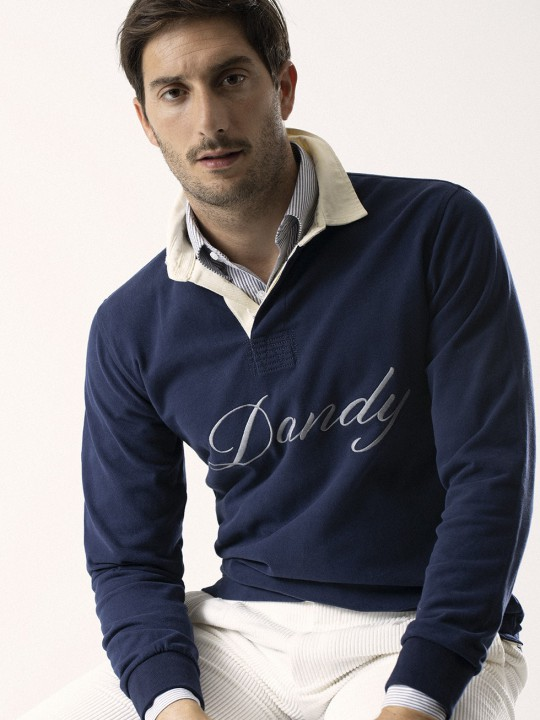NAVY DANDY POLO