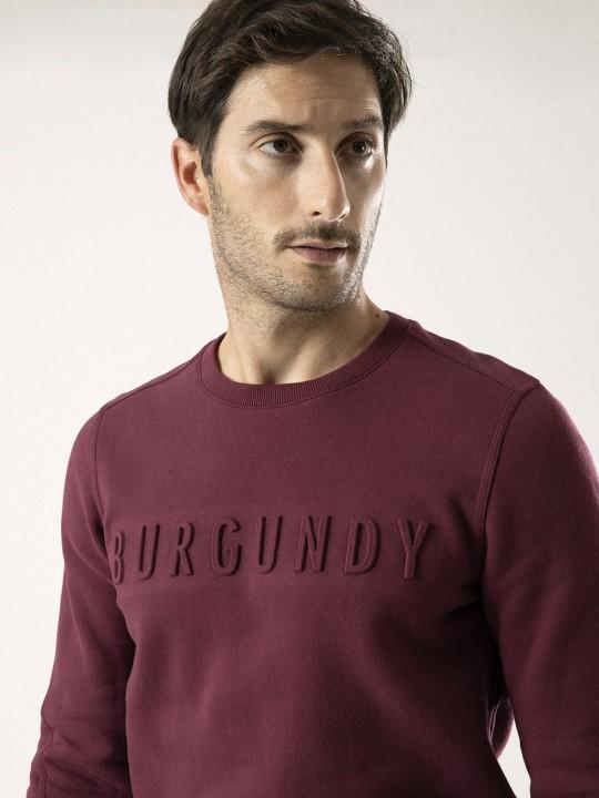 SUDADERA BURGUNDY