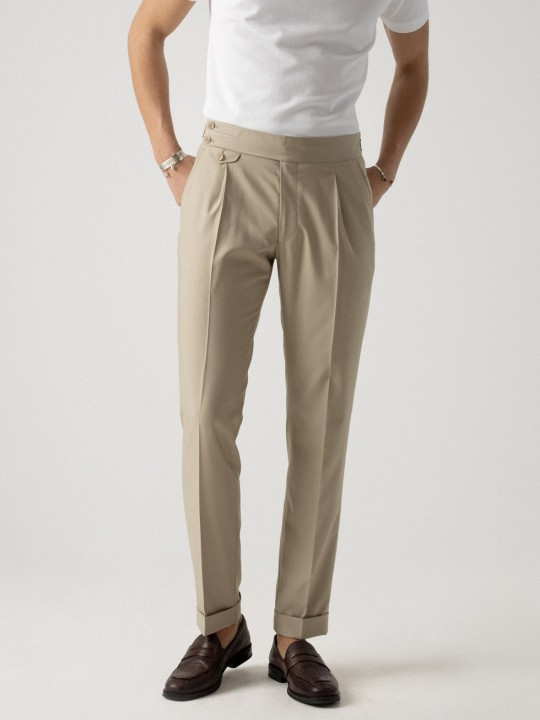 BEIGE ECO-TROUSER