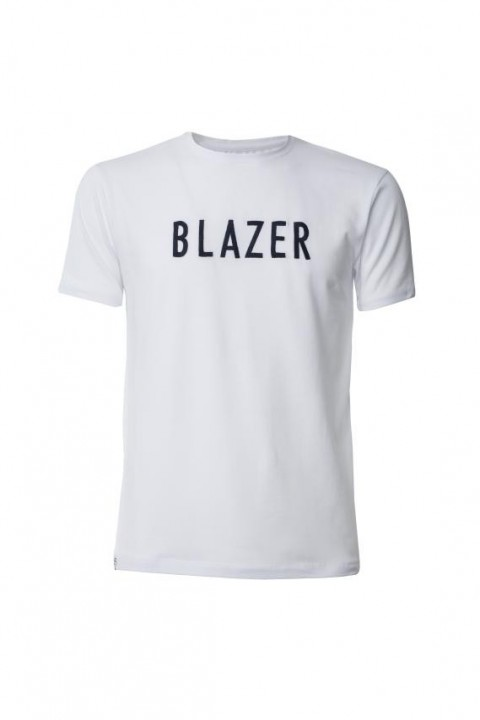 Camiseta blazer blanca