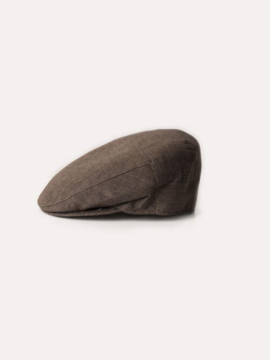 BROWN LAGOS CAP