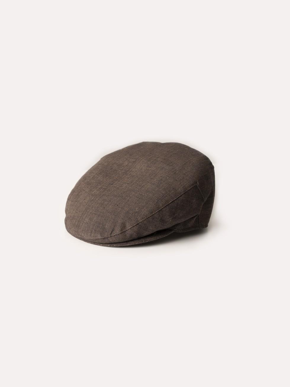 BROWN LAGOS CAP