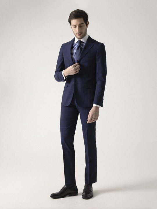 PRINCE OF WALES NAVY SUIT
