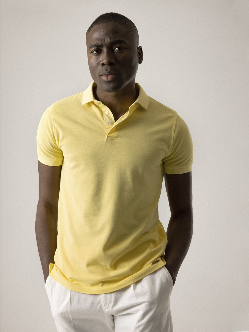 DYED YELLOW POLO