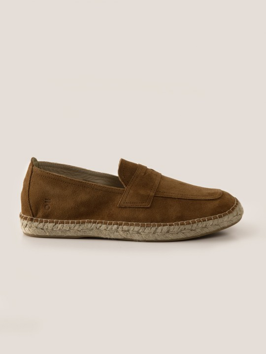 TOASTED SUEDE ESPADRILLES