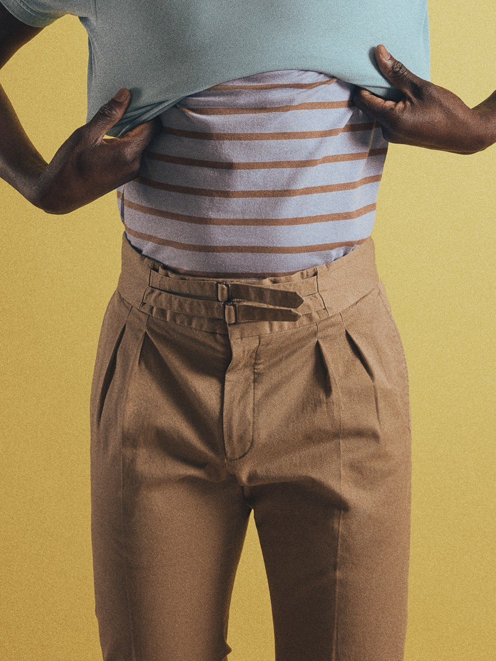SAND ARMY TROUSERS