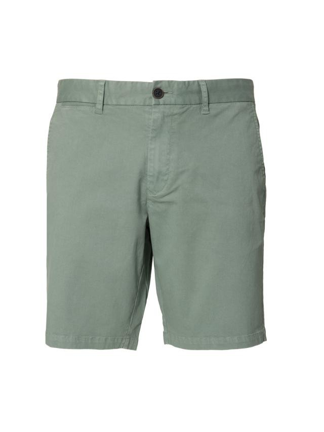 WATER GREEN STRETCH SHORTS