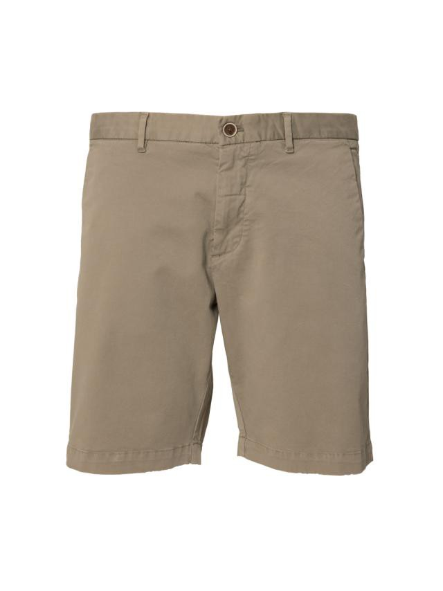 MOSS GREEN DYED SHORTS