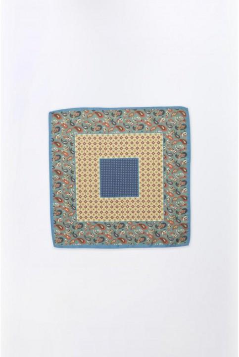 Pañuelo estampado combinado