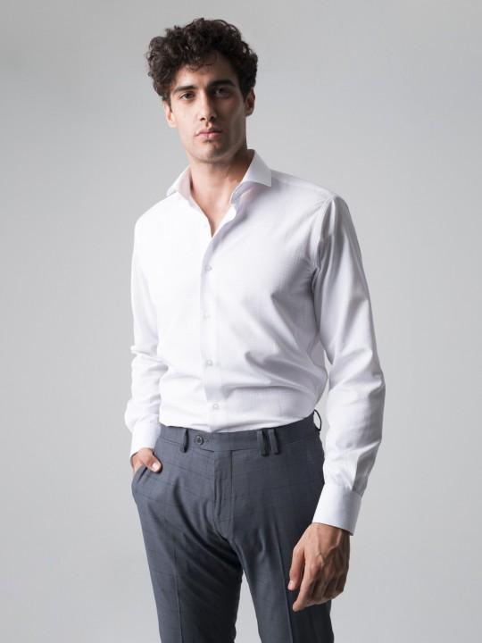 Camisa maquineta blanca