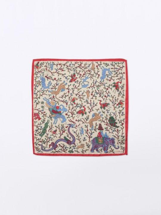 Pañuelo estampado oriental