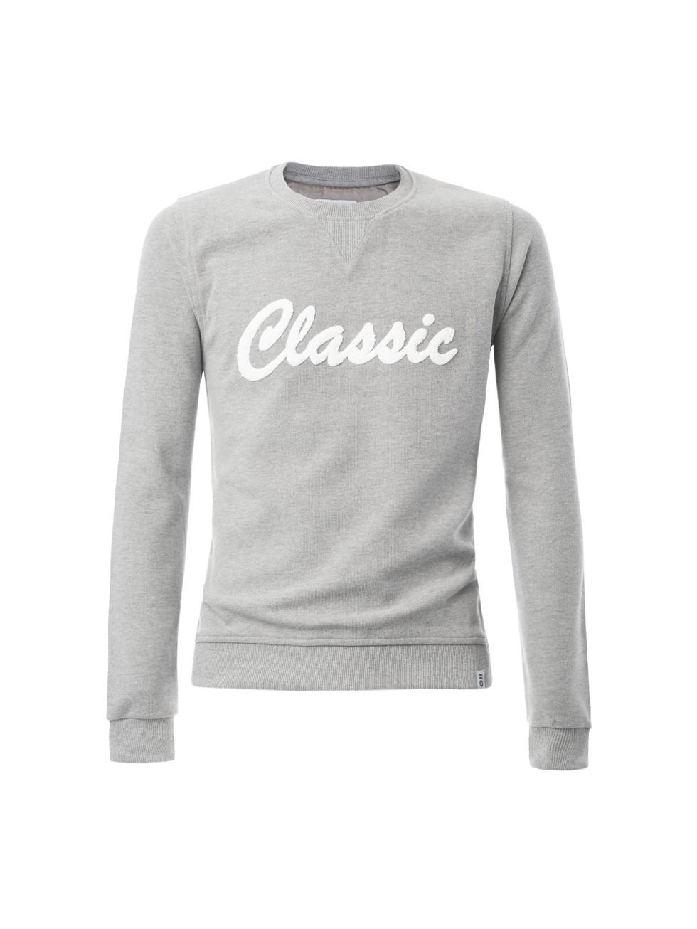 Sudadera Classic gris