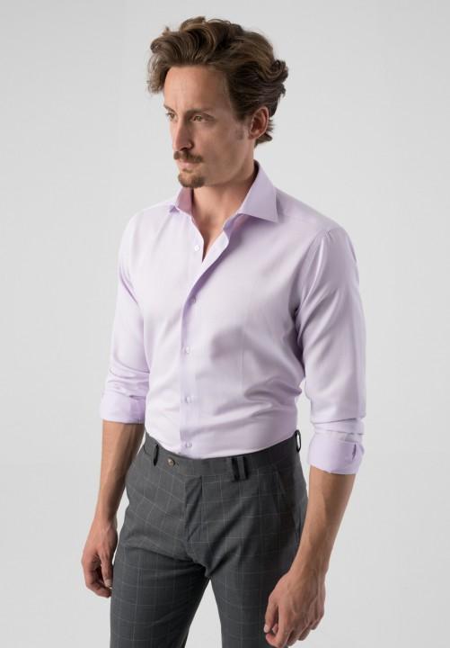 Camisa textura malva