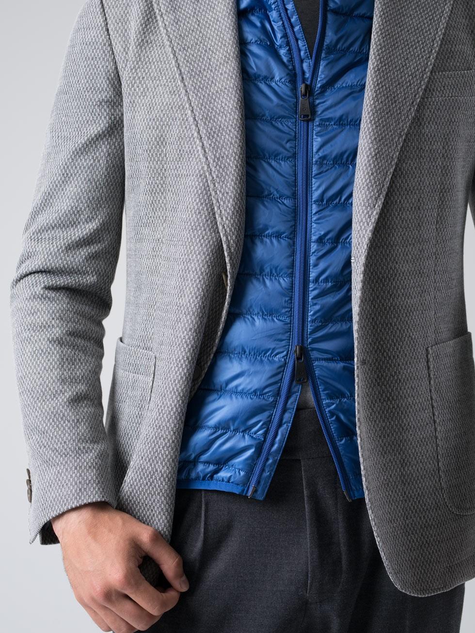 Chaleco acolchado azulón