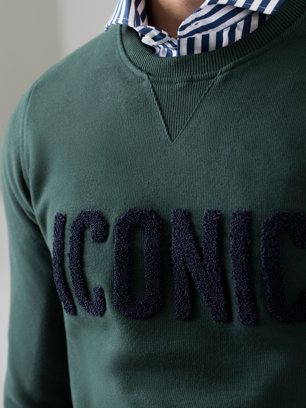 Sudadera ICONIC verde