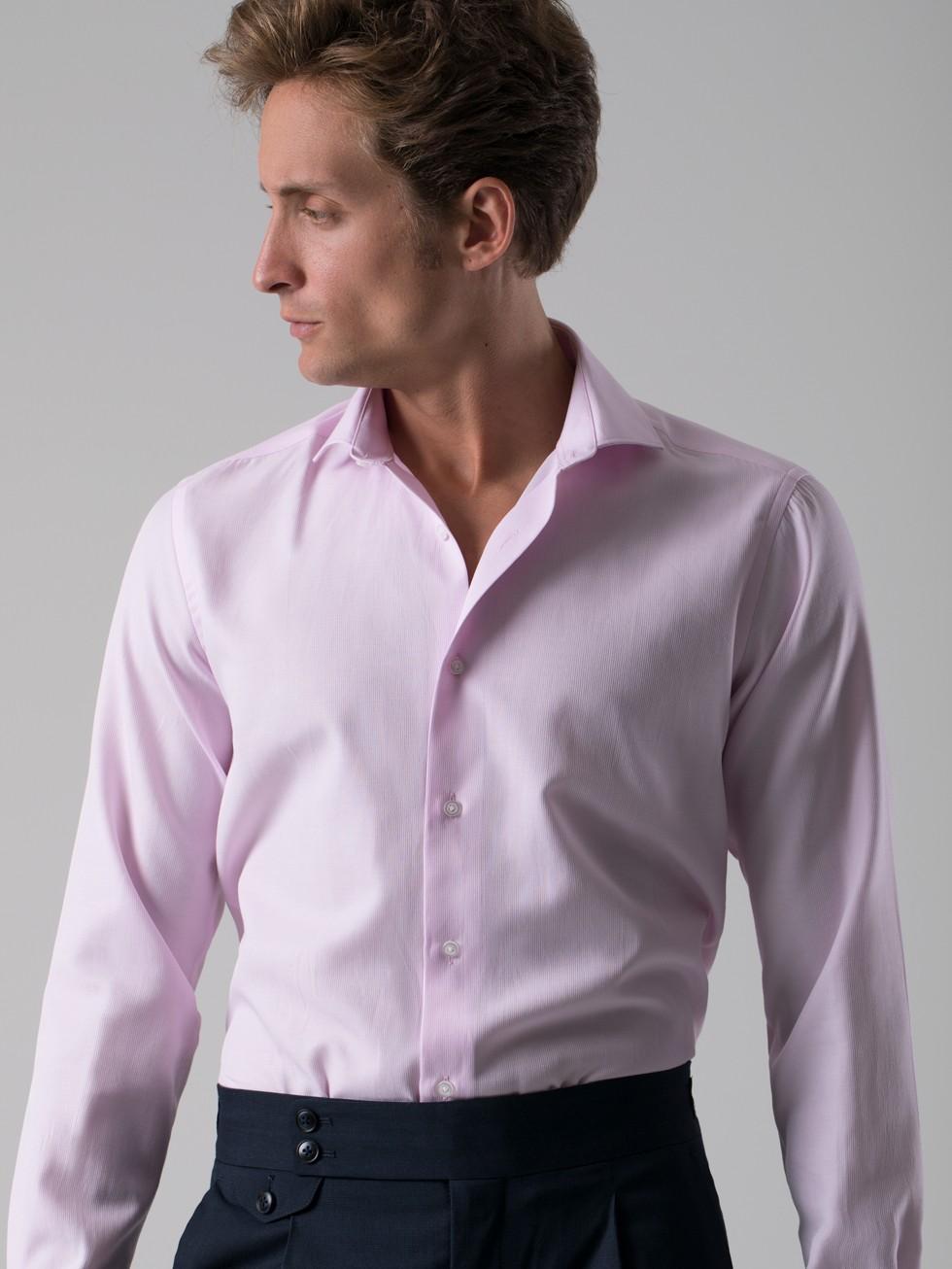Camisa estructura rosa