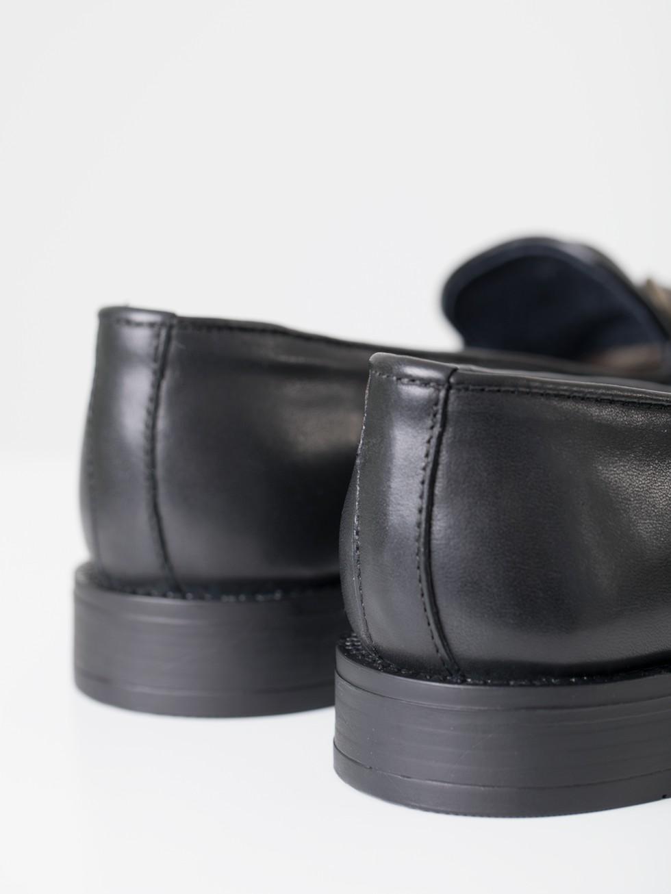 Zapato loafer negro