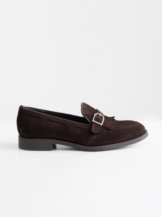 Zapato serraje marrón