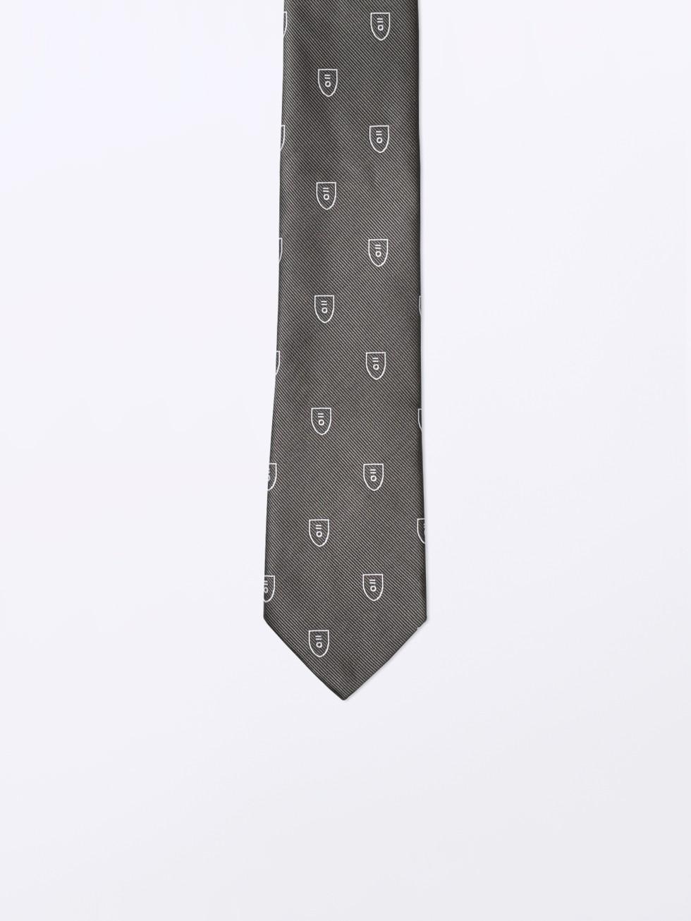 Corbata verde escudo PuroEGO