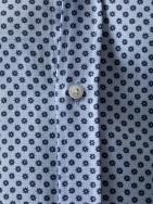 Corbata punto marrón