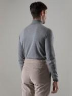Camisa slim fit estampado amebas